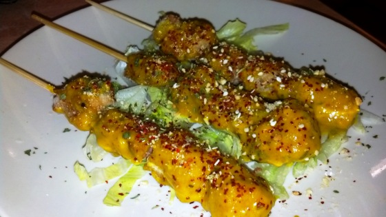 Veggie Satay Sticks